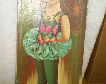 EDEN Harlequin Ballerina Print