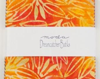 DREAMCATCHER Batiks by Moda Charm Pack