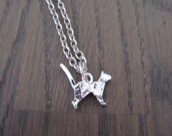 Necklace Origami Cat