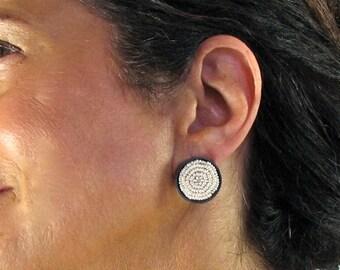 Seed pearl earrings, freshwater pearls, FWP earrings, Pearl and silver, pearl earrings, wedding earrings, wedding, weddings