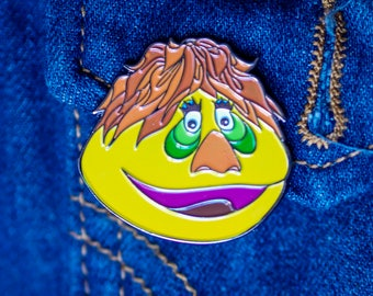 HR Pufnstuf Enamel Pin - 1970s Retro Accessory - Krofft Brothers