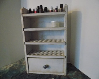 Essential Oil Shelf Storage shelf 96ct with drawer - Rebecca