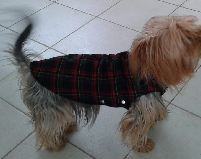 clothing for dog, jeans, accessory for dog clothes for small dog, dog coat, protective dog, york shire garment