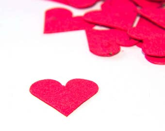 Plantable Seed Paper Hearts - diy wedding favors, place cards, save the date cards, creative invitations