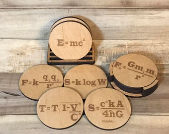 Physics Equation Coaster
