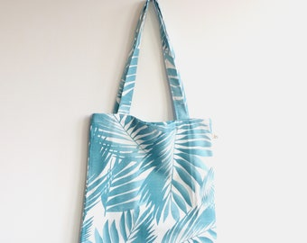 Canvas Shopper | Canvas Bag | Katoenentas leaves