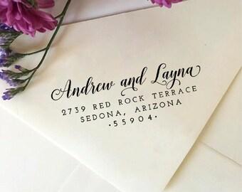 Return Address Stamp, Custom Address Stamp, Self-Inking Stamp, Wooden Stamp, Rubber Stamp, Wedding Stamp, Christmas Gift, Bridal Shower Gift