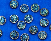 Dark Blue Iridescent Crys...