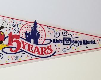 Walt Disney World - Vintage Pennant
