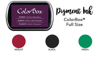 Pigment Ink Pad, ColorBox Pigment Stamp Pad, Pick Your Color