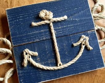 Rope Anchor Sign