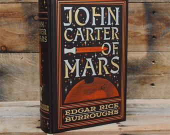 Hollow Book Safe - John Carter of Mars - Leather Bound
