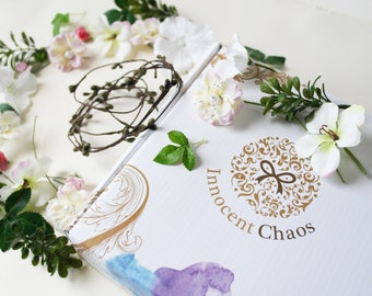 Flower girl crown, flower crown wedding, flower crown bridal, boho flower crown, white flower crown, flower headpiece, flower crown kit