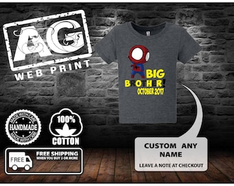Big Brother Shirt Big Brother Announcement Shirt Baby Boy Sibling Shirt Big Brother Little Brother Shirt Big Brother Gift.