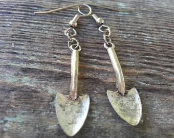 Garden Girl Shovel Earrings