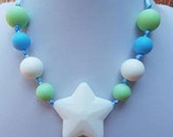 Kids silicone necklace