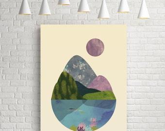 Fine art prints, modern art, wall art prints, contemporary wall art, modern fine art, world art, earth, aquatic, scenery