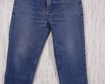 Levis 501 stonewash high waist jeans