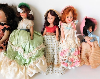 Vintage Doll Collection Vogue Doll Storybook Doll