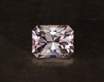 Kunzite Light Pink Natural Radiant Brilliant Emerald Precision Cut Rectangular Loose Faceted Spodumene Gem Stone