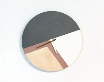 Unique Wall Clock, Large Wall Clocks, Wood Wall Clock, Father's Day Gifts, Trending Wall Clock, Ready To Ship