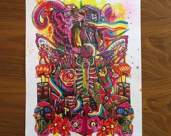 Cosmic Being - Digital Print