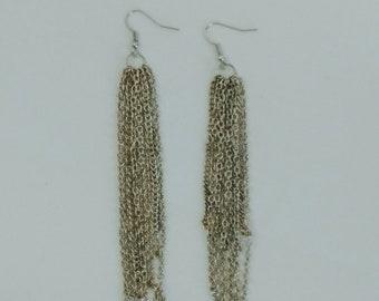 Chain Waterfall Earrings