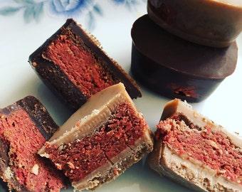 5 White Chocolate Strawberry Cheezecake ~