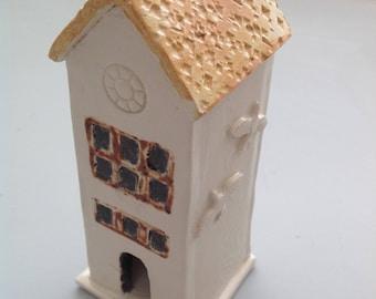 Handmade Ceramic Little Prayer Tower