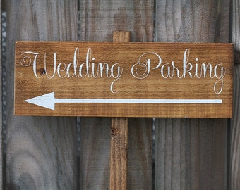 Wedding Sign, Wedding Signs - Wedding Parking Sign WS-104
