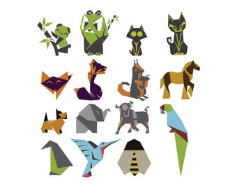 Instant Download Origami Design Set