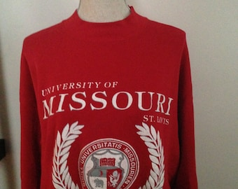 Vintage University of Missouri St. Louis 80s Sweatshirt