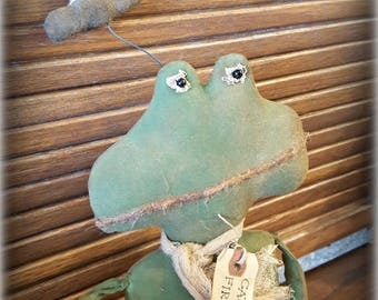 Catching Fireflies Frog Doll Summer Doll