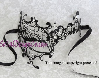 Phantom, Masquerade Mask Woman, Eye Mask, Venetian Mask, Woman, Prom, Masquerade, Laser Cut, Sexy Mask, Woman Masquerade Mask, Metal Mask