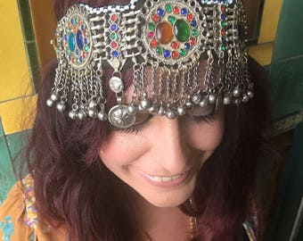 Gypsy Headpiece Headdress Boho Chic Festival