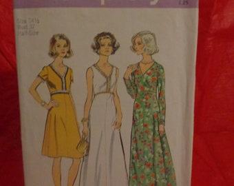 Vintage Simplicity Pattern 6030--Size 14 1/2