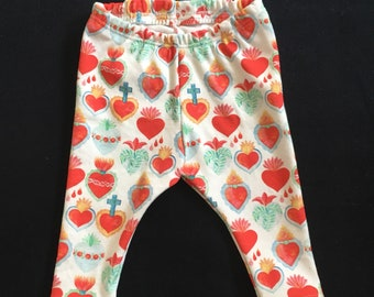 Sacred and Immaculate Heart Baby Leggings