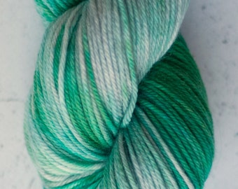 Sock Yarn, Smokin' Grasshopper
