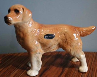 SALE  Large Stunning Coopercraft Figure of a Labrador or Golden Retriever Dog  Excellent Condition  23 cm tall
