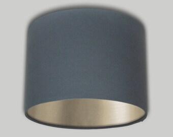 Pineapple cream grey drum lampshade lamp shade lightshade 20cm dark grey drum lampshade champagne inner lightshade lamp shade 20cm 25cm 30cm 35cm 40cm 50cm 60cm 70cm aloadofball Image collections