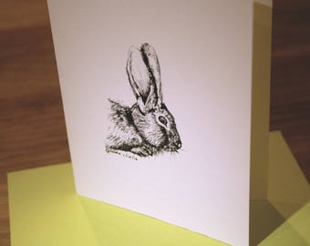 Bunny - Blank Greeting Card