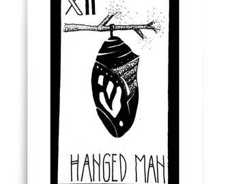 Hanged Man Tarot Print