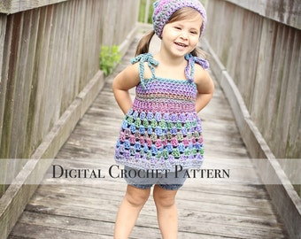 Tank Top Pattern / Fall Crochet Pattern / Crochet Tank Top / Tunic Pattern 031 / Kerchief Pattern 009 / DIY Gift for Her / Photo Prop