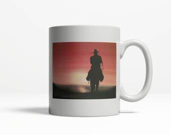 Horses Mug| Original Mug Design| Western| Cowboy 024