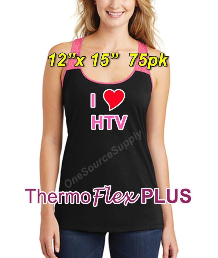 12x 15 75 Sheet Thermoflex Plus Heat Transfer Vinyl
