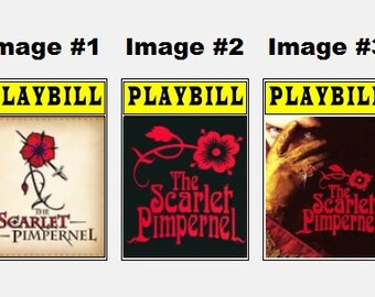 Theater / Show Charm - Playbill Play Bill - The Scarlet Pimpernel