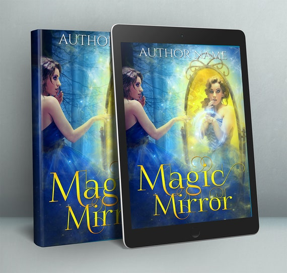 premade fantasy fairytale woman cover design