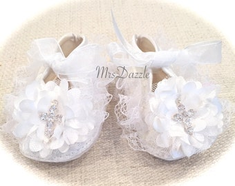 baby christening shoes, baby baptism shoes,baby cross shoes,baby lace shoes,ivory baby shoes, newborn shoes, Infant shoes, baby dress shoes