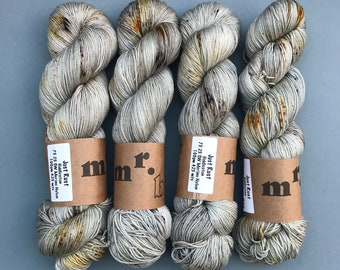 Just Rust; hand dyed yarn PRE-ORDER