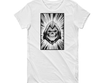 Skeletor Portrait Short Sleeve Women's T-shirt